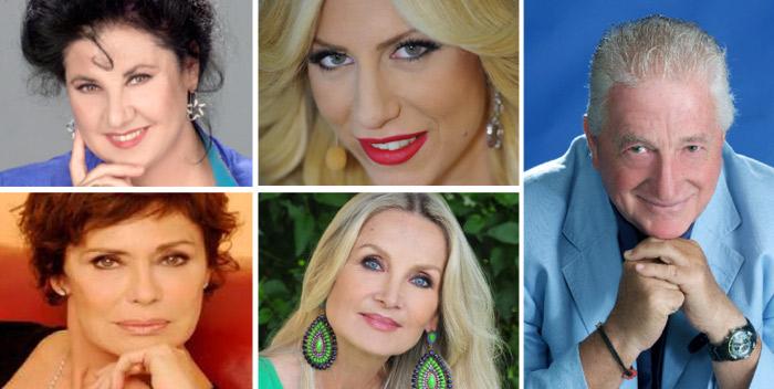 QUATTRO DONNE E UNA CANAGLIA con Marisa Laurito, Corinne Clery, Barbara Bouchet