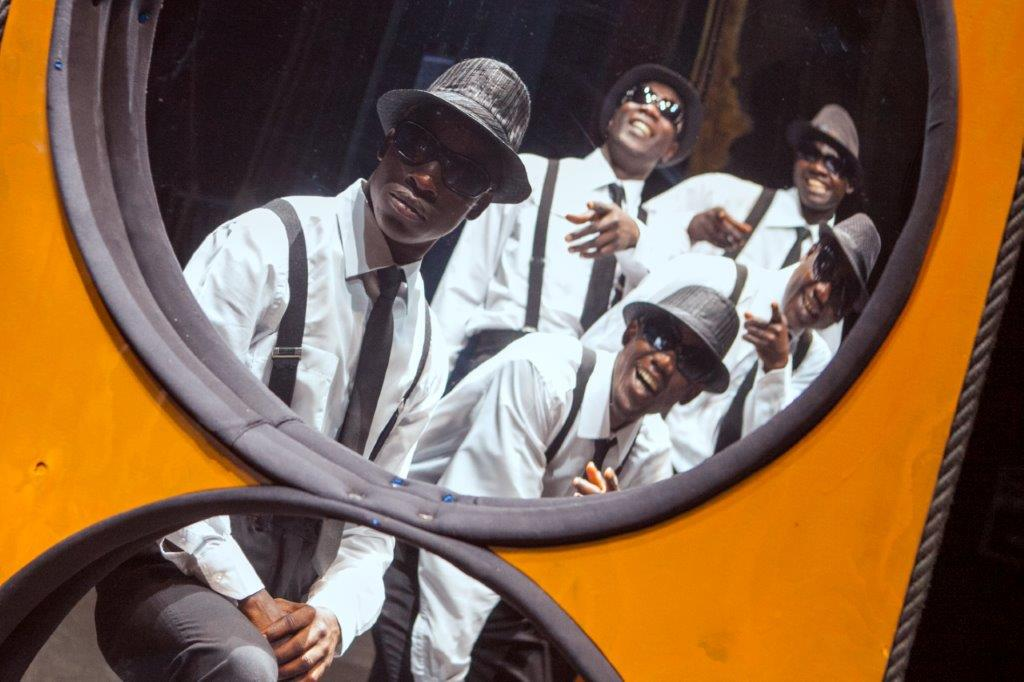 THE BLACK BLUES BROTHER'S SHOW