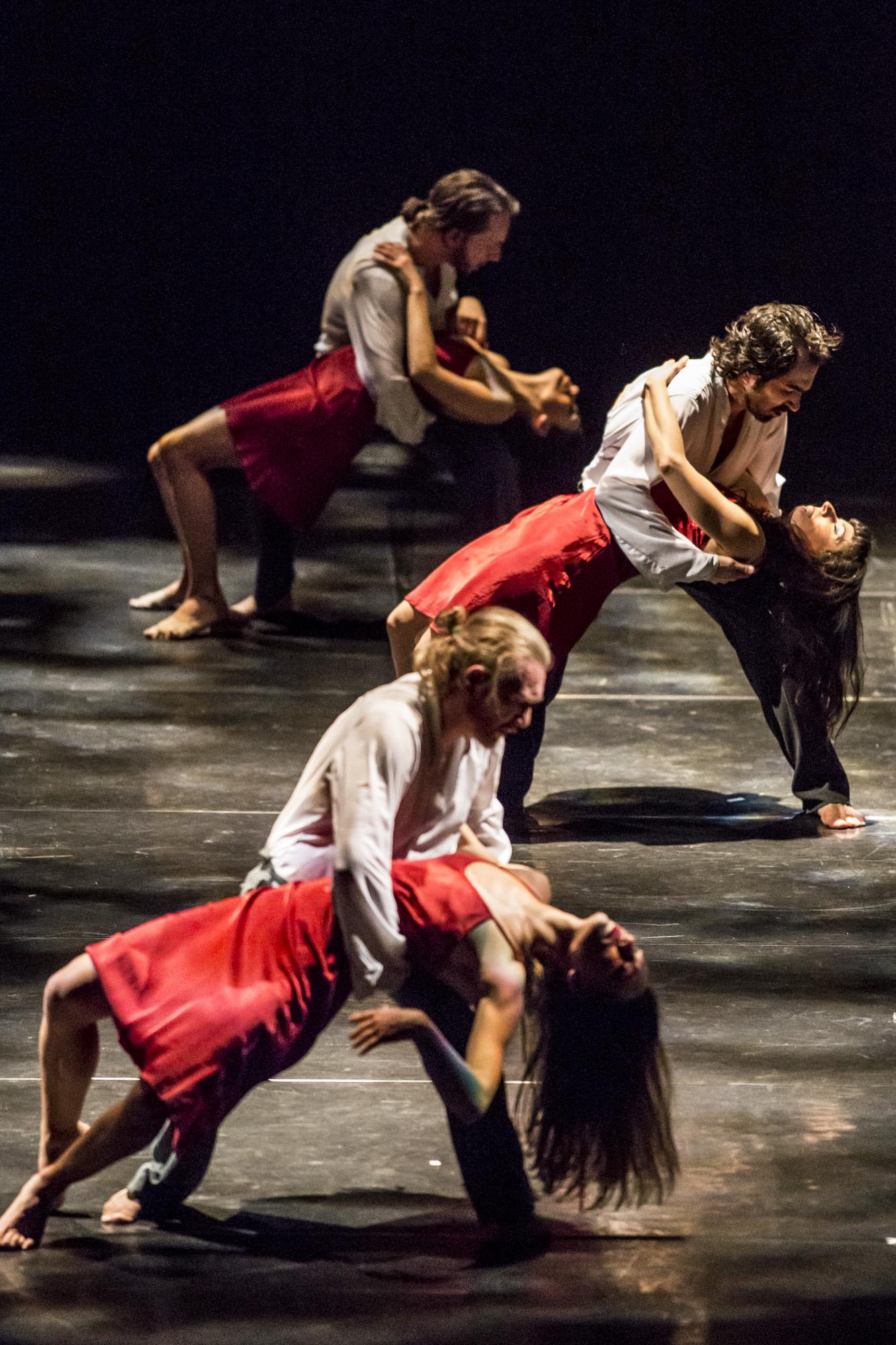 ROMEO Y JULIETA tango compagnia Naturalis Labor