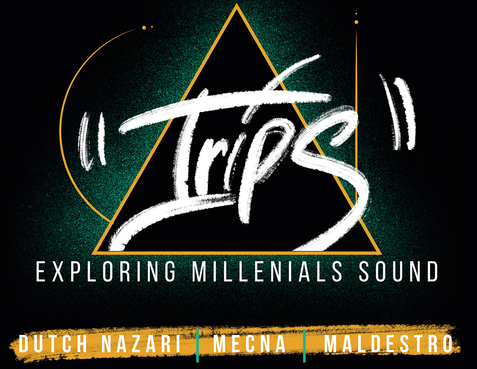 "PESARO, SABATO 6 APRILE ""TRIPS/EXPLORING MILLENIALS SOUNDS"" UN ""MICROFESTIVAL"" DEDICATO ALLE NUOVE TENDENZE MUSICALI CON DUTCH NAZARI, MECNA E MALDESTRO"