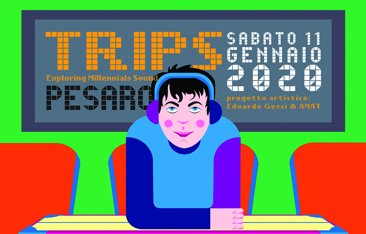 """PESARO, SABATO 11 GENNAIO """"TRIPS/EXPLORING MILLENIALS SOUNDS"""" SECONDO """"MICROFESTIVAL"""" DEDICATO ALLE NUOVE TENDENZE MUSICALI CON TRUPPI, TREDICIPIETRO E VENERUS"""