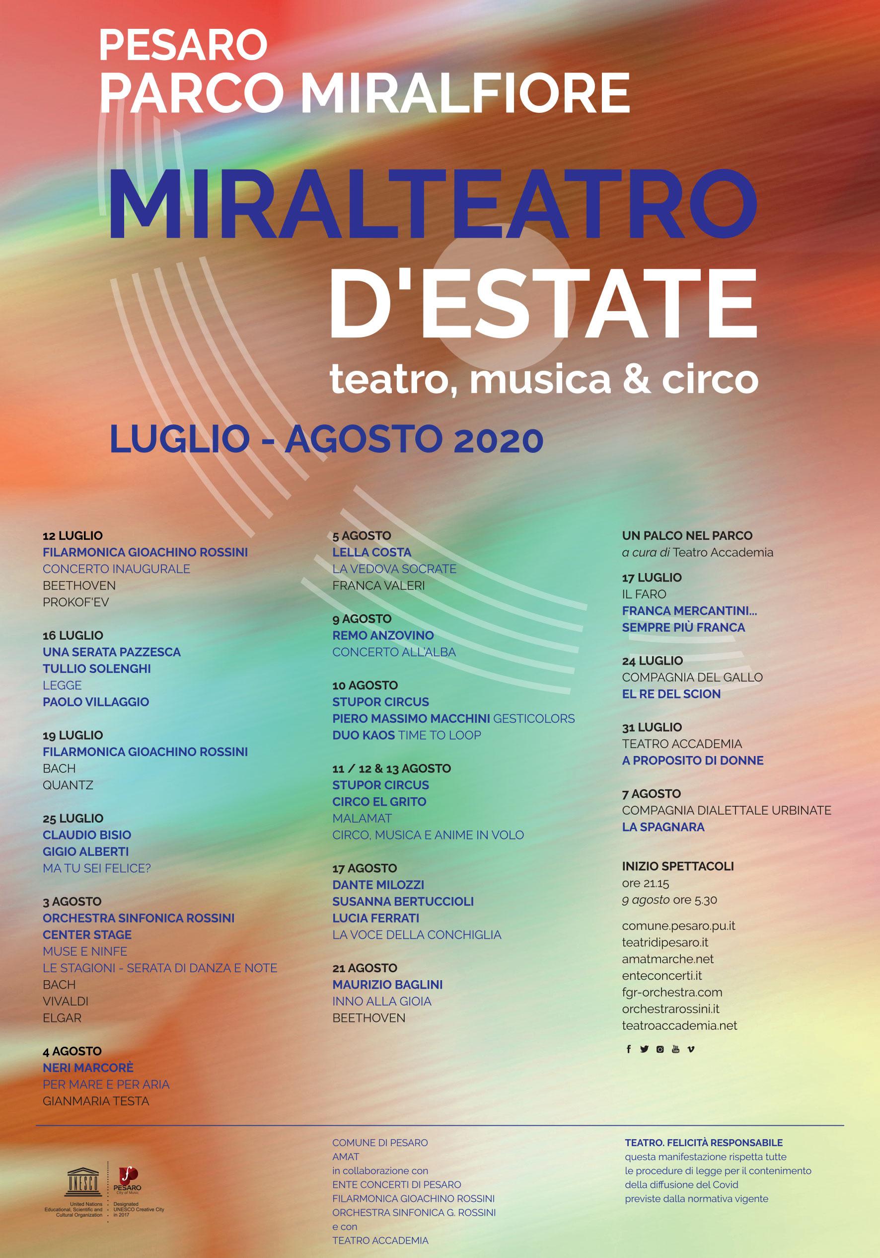 Pesaro | Miralteatro 2020
