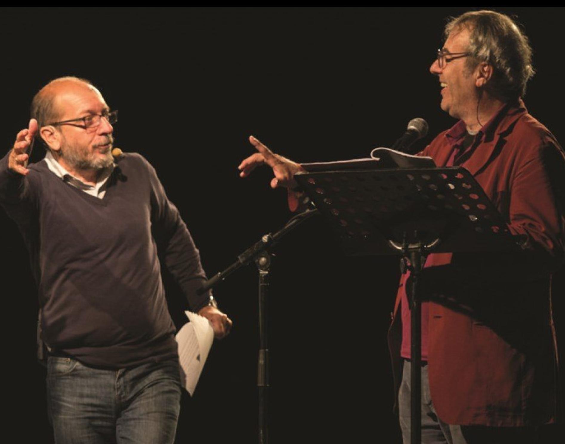RAFFAELLO, LA FORNARINA, IL CINQUECENTO e altre storie di e con David Riondino e Dario Vergassola