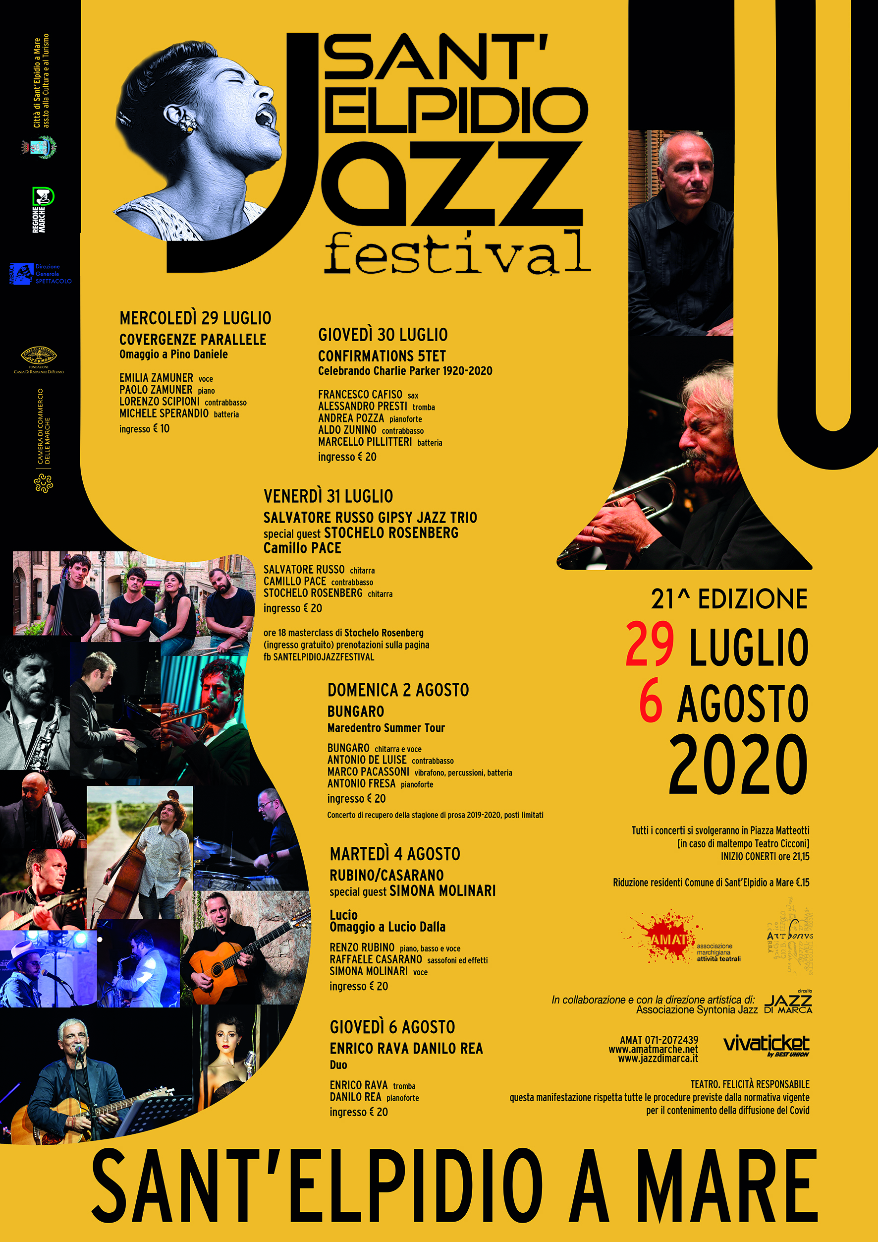 Sant'Elpidio a Mare | Sant'Elpidio Jazz Festival 2020