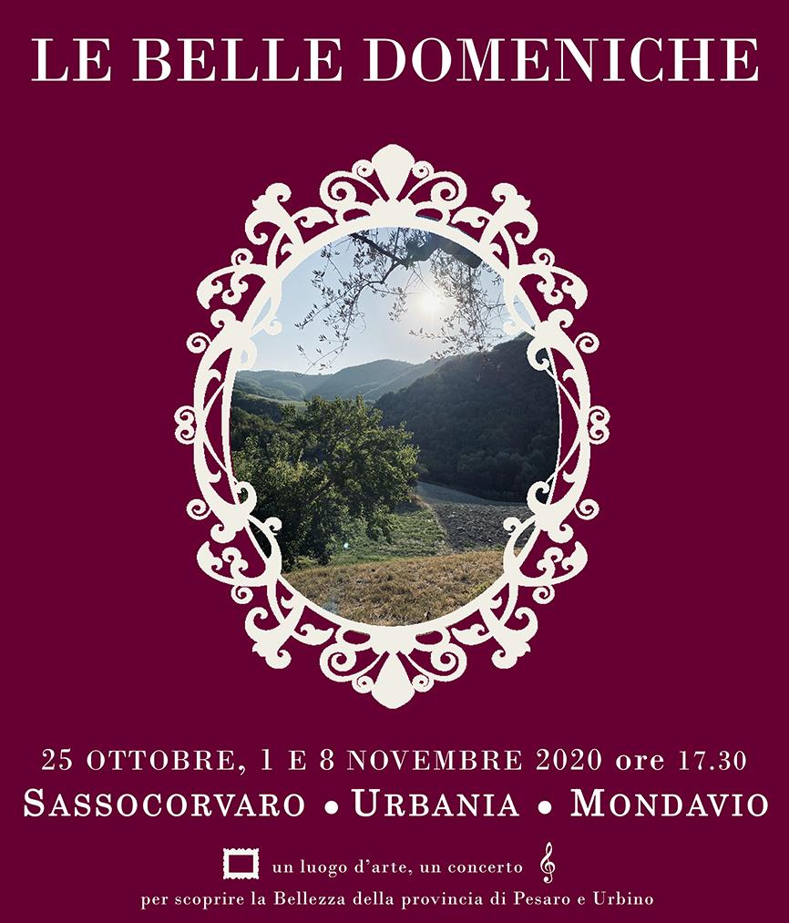 """DOMENICA 25 OTTOBRE ANNULLATO A SASSOCORVARO IL PRIMO APPUNTAMENTO DE """"LE BELLE DOMENICHE"""""""
