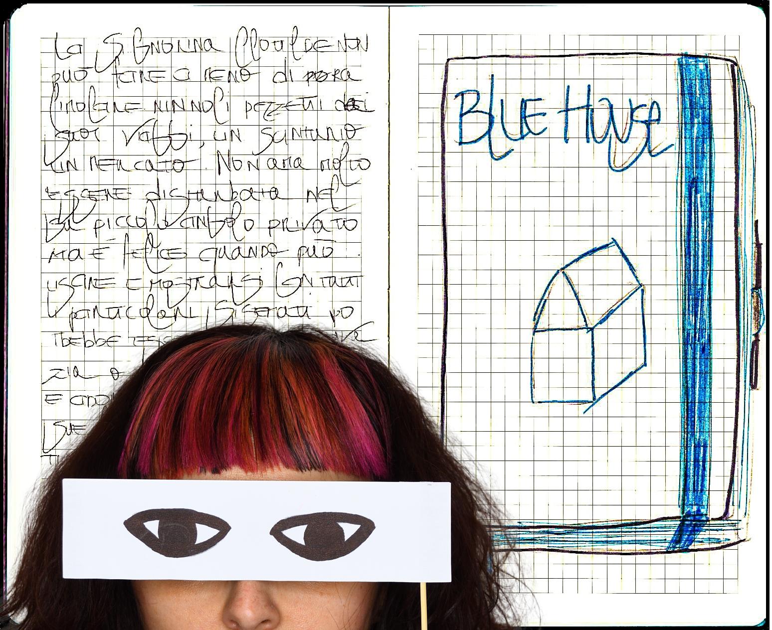 BLUE HOUSE_esplorazione performativa di Alice Toccacieli/Luoghi Comuni