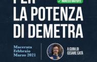 """GIOVEDÌ 25 FEBBRAIO IN STREAMING DALLA BIBLIOTECA MOZZI BORGETTI DI MACERATA """"PER LA POTENZA DI DEMETRA"""", TRITTICO DI LEZIONI-SPETTACOLO A CURA DI CESARE CATÀ. SECONDO APPUNTAMENTO DEDICATO A OSCAR WILDE"""