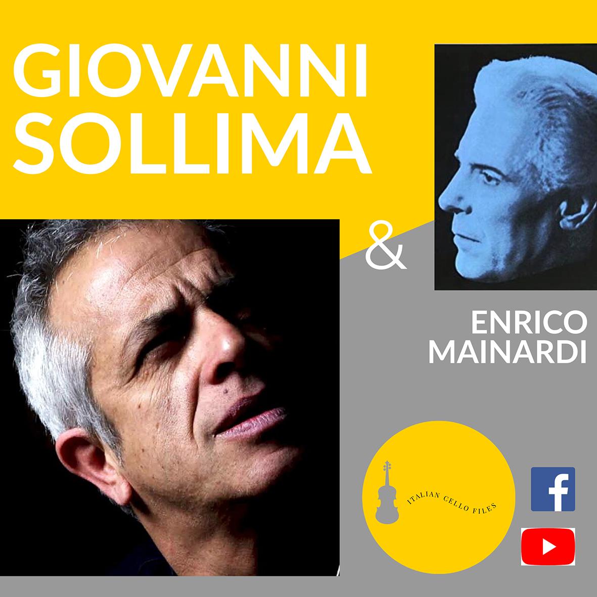 """INCONTRI ON LINE, GIOVEDÌ 25 MARZO """"ITALIAN CELLO FILES INCONTRA GIOVANNI SOLLIMA"""""""