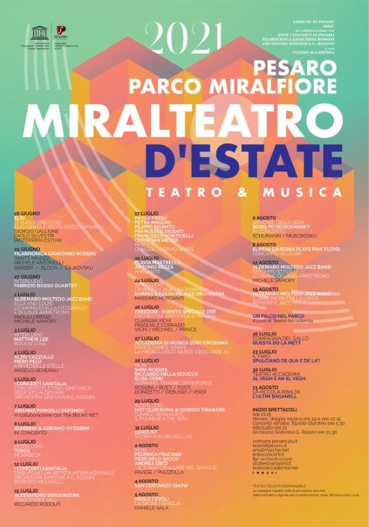 Pesaro | Miralteatro d'Estate 2021