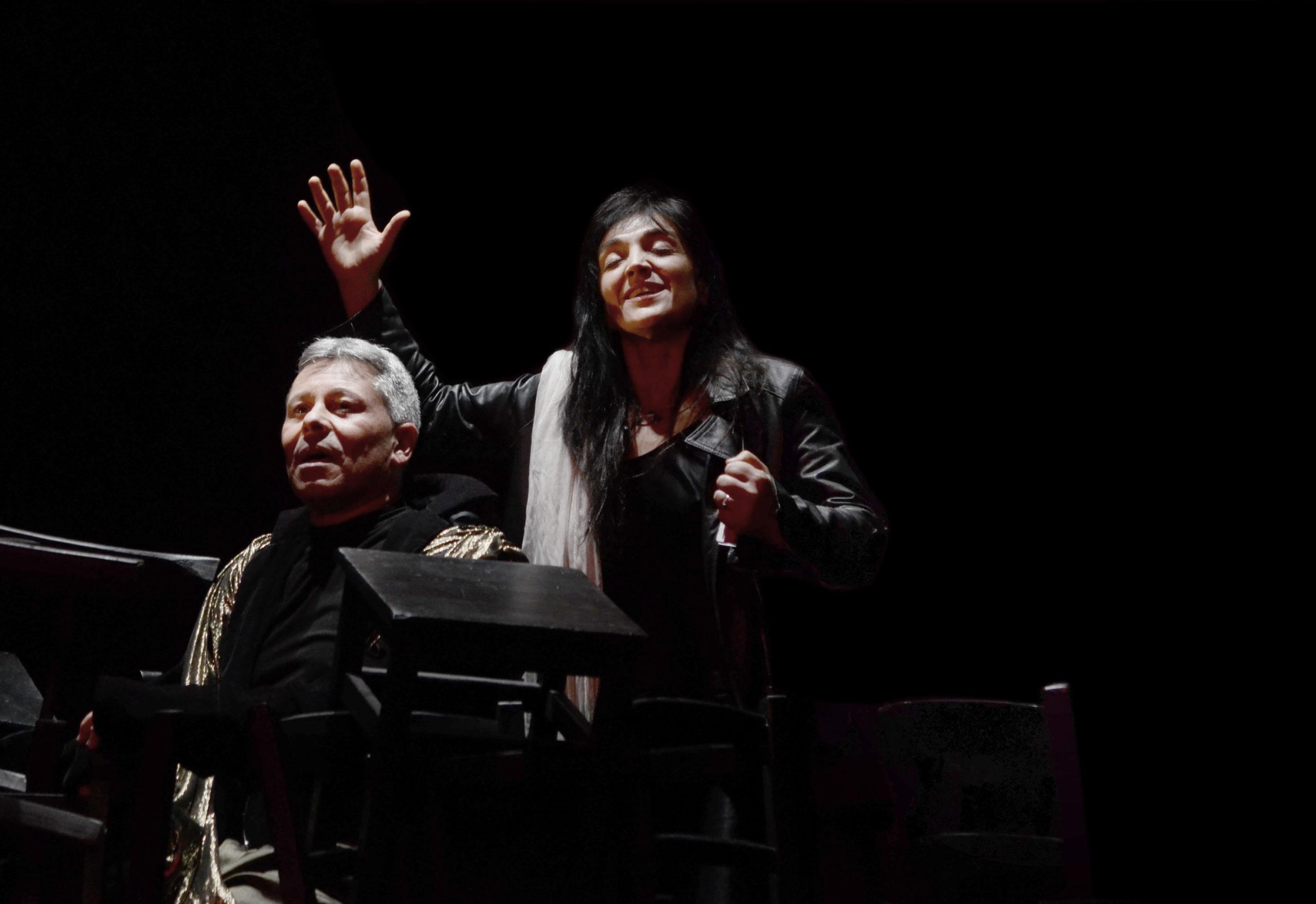 ANTIGONE QUARTET CONCERTO UNA LETTURA IN MUSICA con Elena Bucci e Marco Sgrosso
