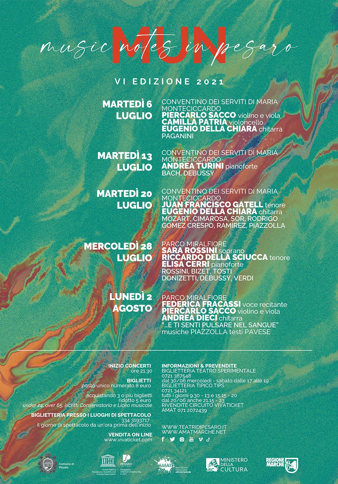 Pesaro | MUN Music Notes in Pesaro 2021