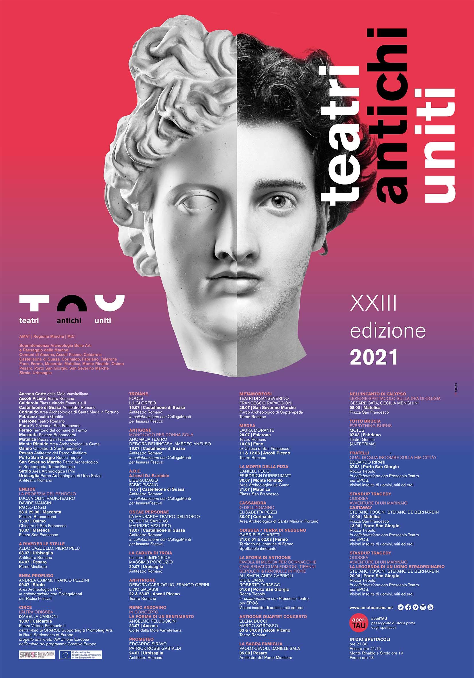TAU - Teatri Antichi Uniti 2021