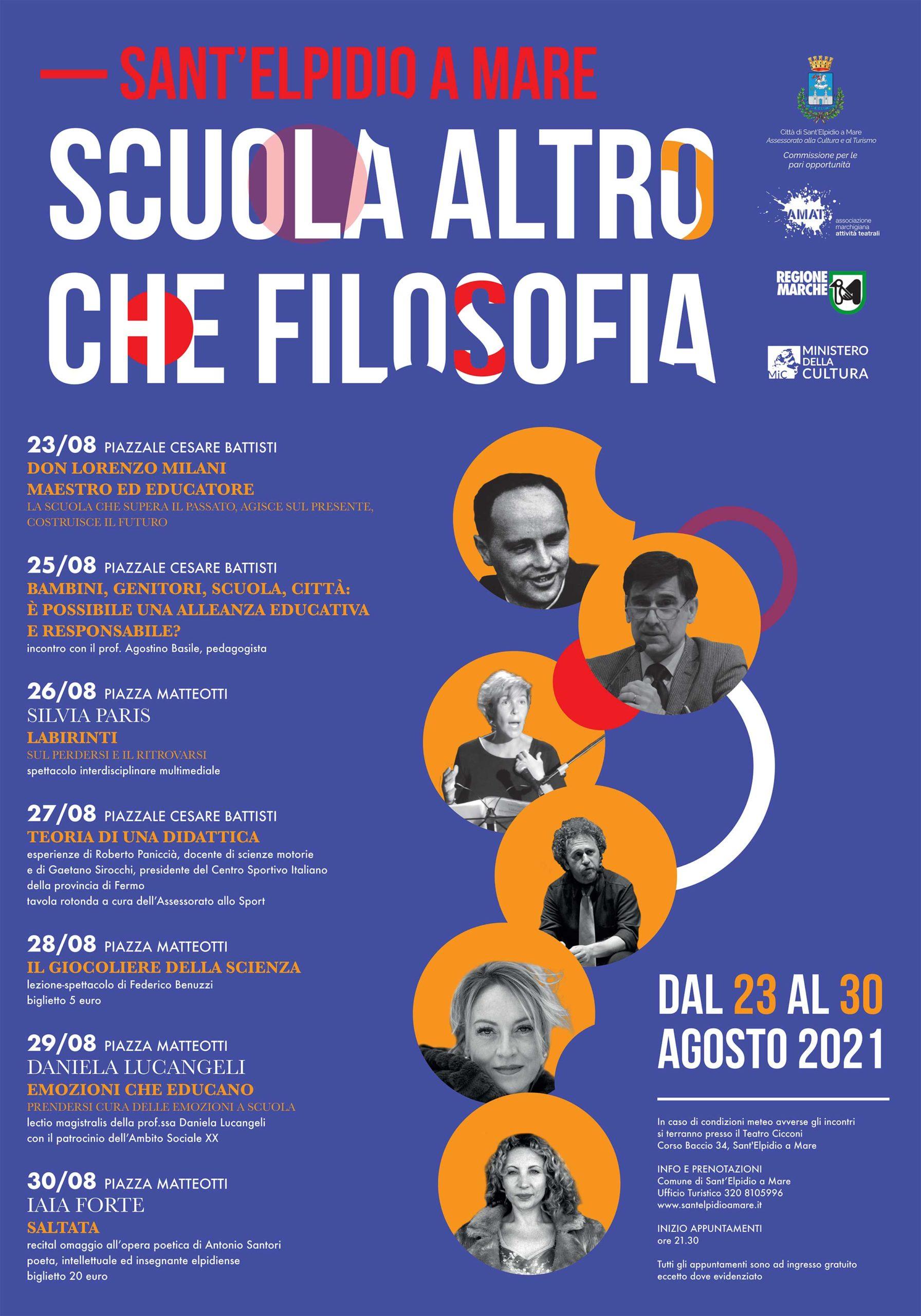 SCUOLA ALTRO CHE FILOSOFIA 2021